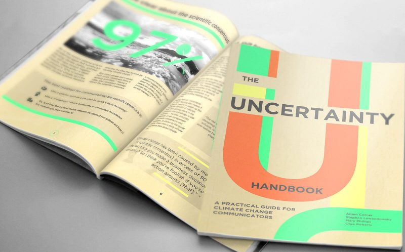 Layout design for The Uncertainty Handbook