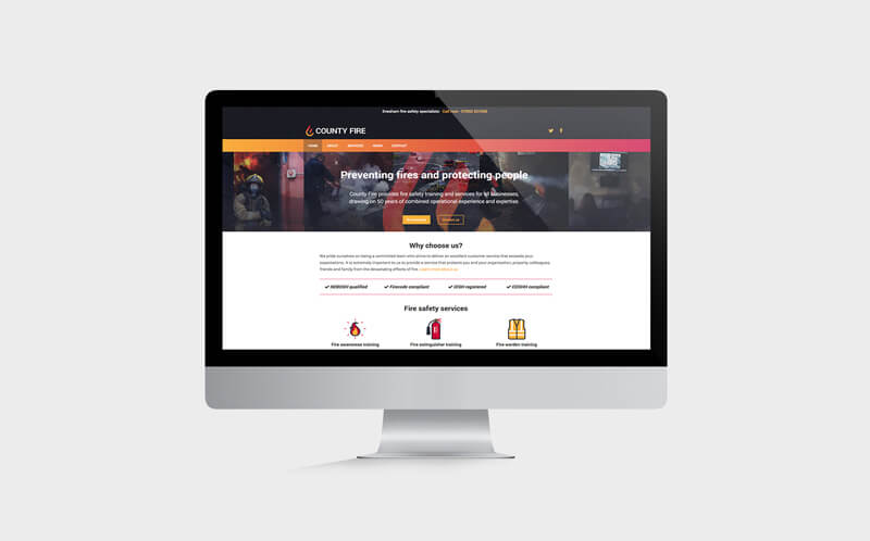 County-Fire-website