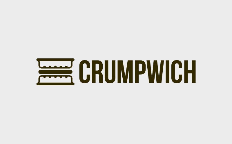 Crumpwich small business logo design