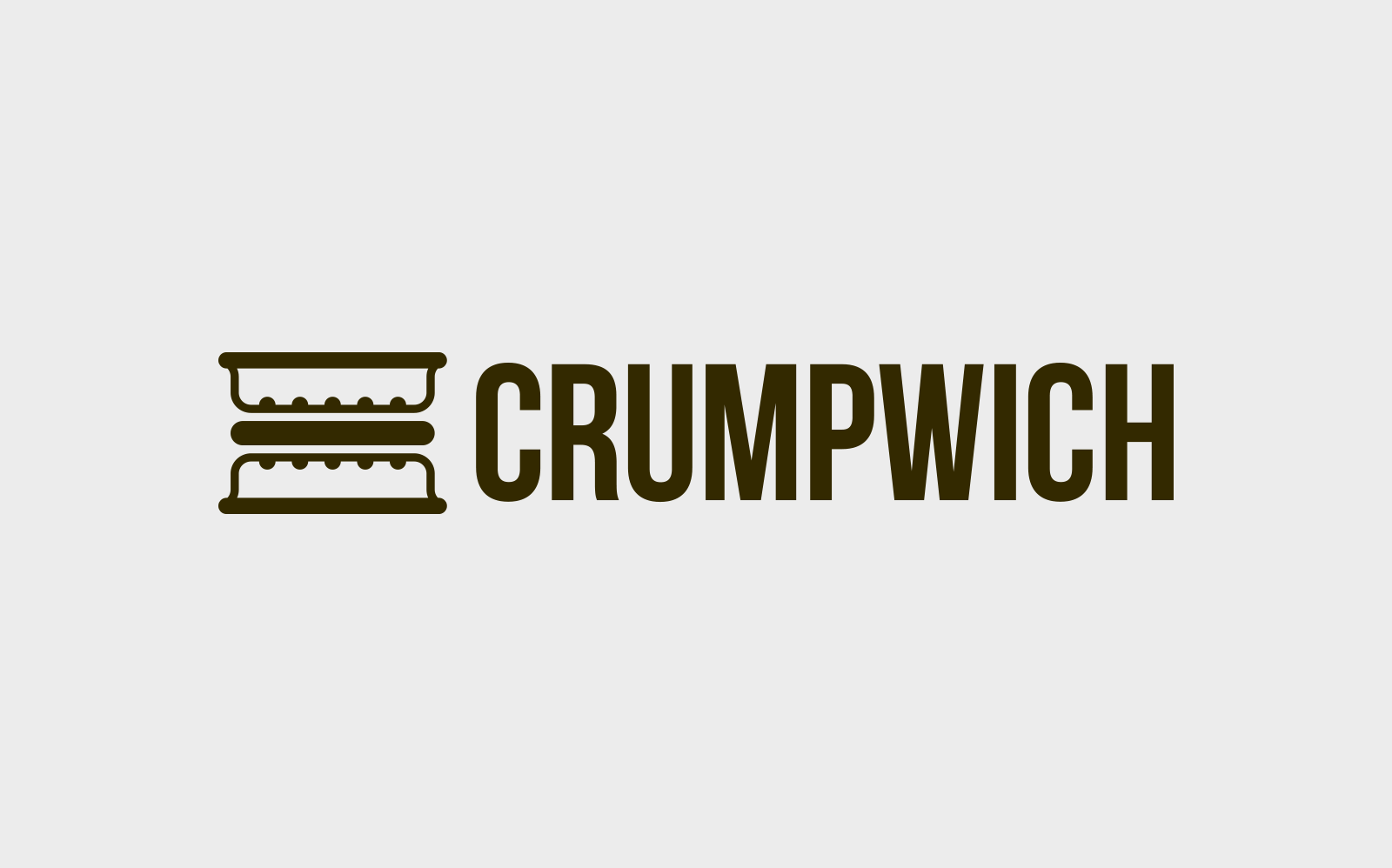 Crumpwich small business logo design