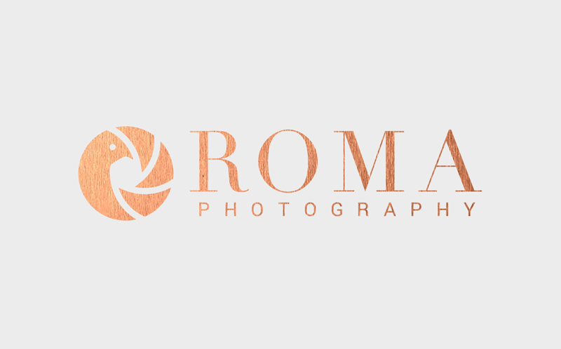 Logo design for Roma Photography