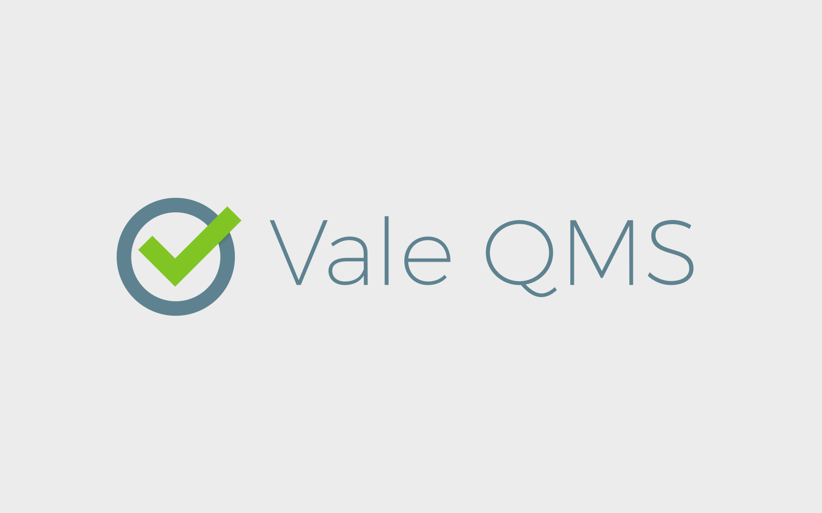 Vale QMS small business logo design