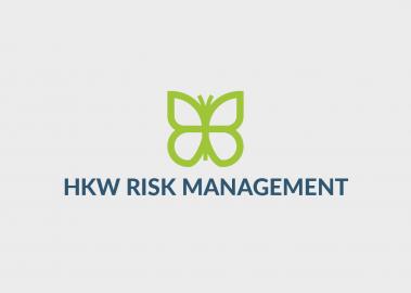 HKW Risk Management small business logo design