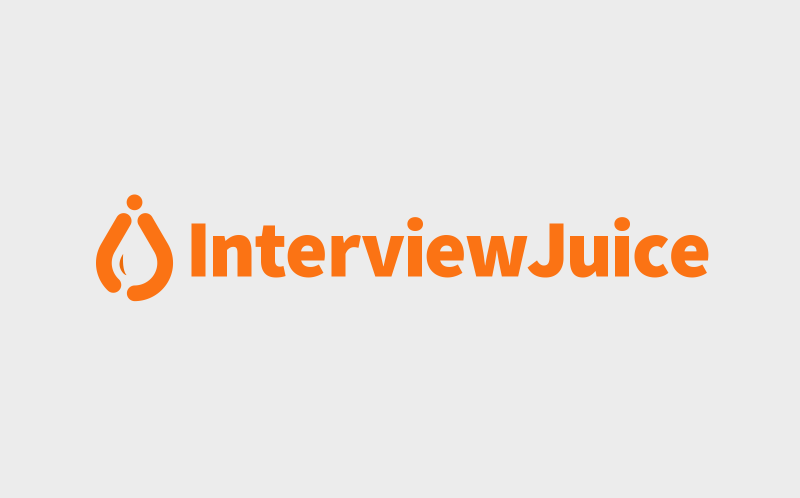 Interview Juice small business logo design