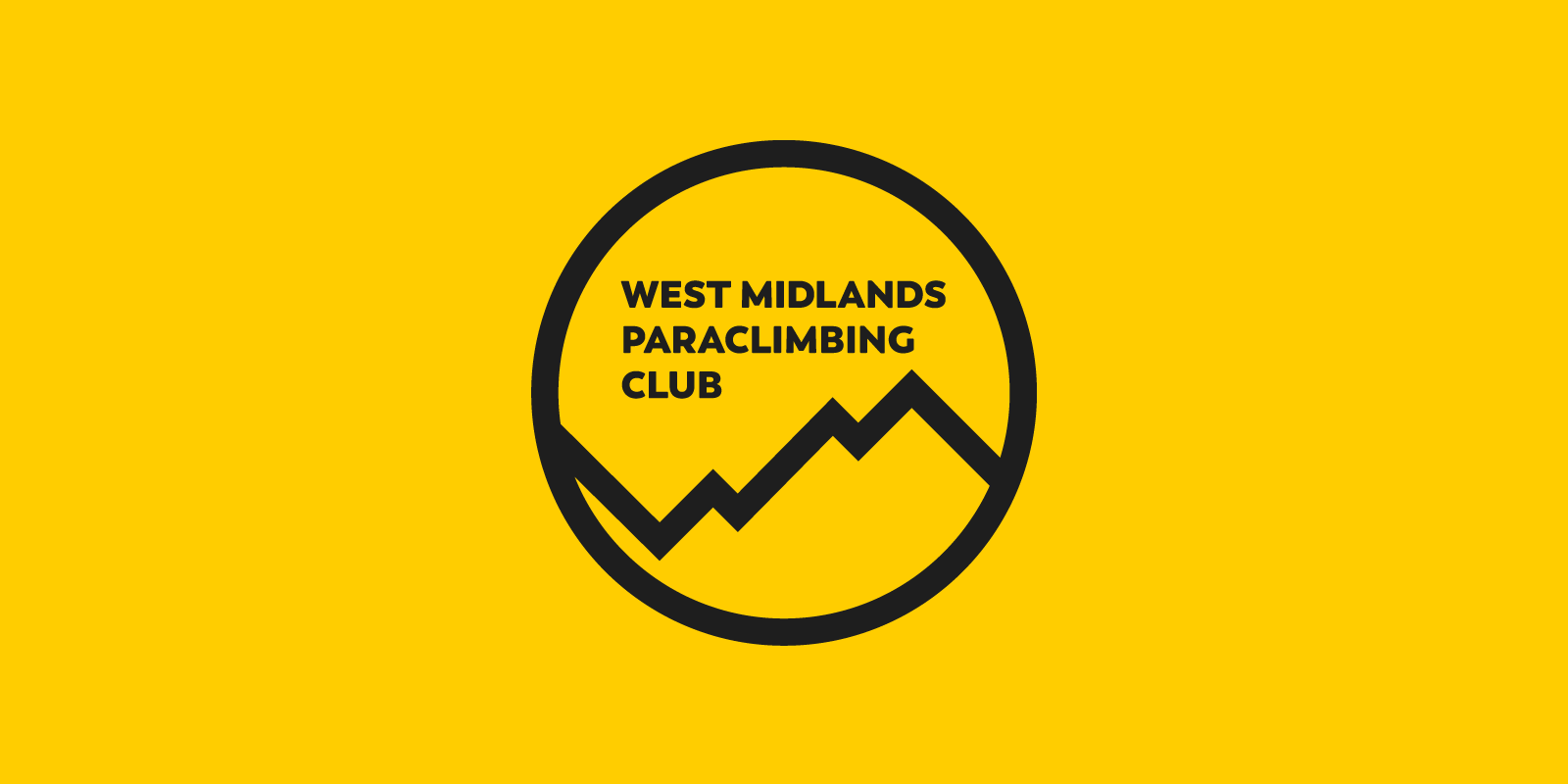 logo design for west midlands paraclimbing club oliver cowan graphic design freelance