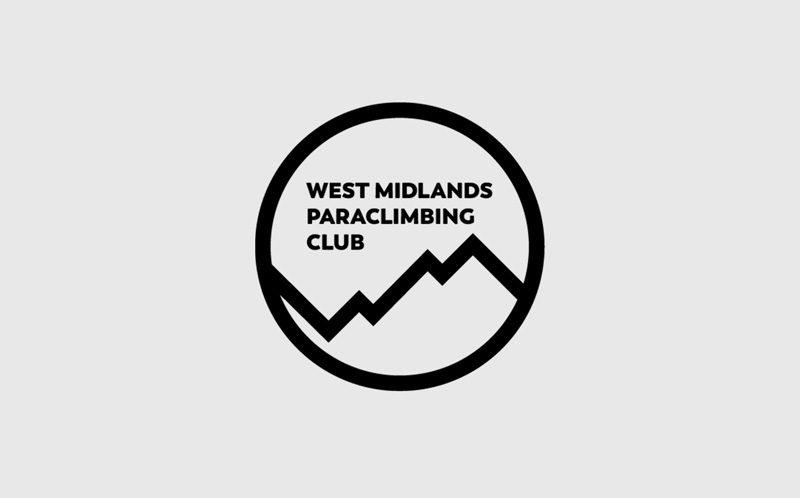 Logo design for West Midlands Paraclimbing Club