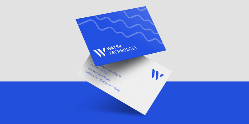 water technology business card